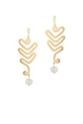 Pearl Willow Earrings by Elizabeth and James Accessories