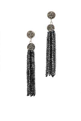 Studded Tassel Earrings by Turkish Delight