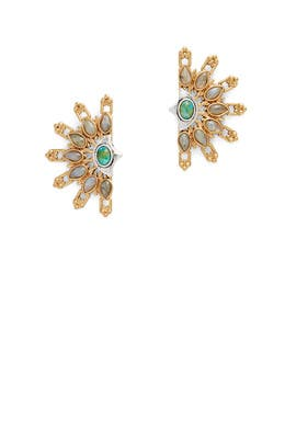 Marjorelle Stud Earrings by Lulu Frost