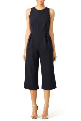 Black Culotte Jumpsuit by Rebecca Minkoff