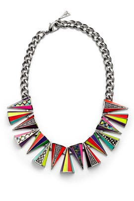 Neon Prankster Necklace by Sarah Magid