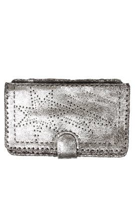 Silver Starburst Clutch by Cleobella Handbags
