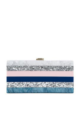 Marble Box Clutch by Milly Handbags