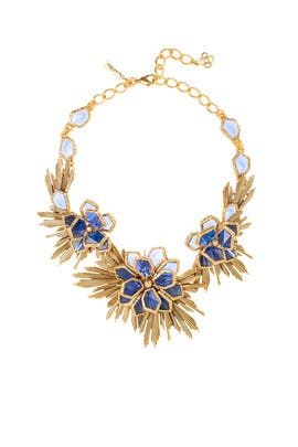 Wild Flower Necklace by Oscar de la Renta