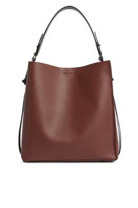 Burgundy Volatire NS Tote by AllSaints