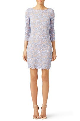 Lilac Zarita Dress by Diane von Furstenberg