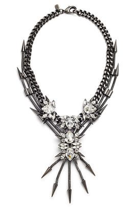 Metal Storm Necklace by Fallon Accessories