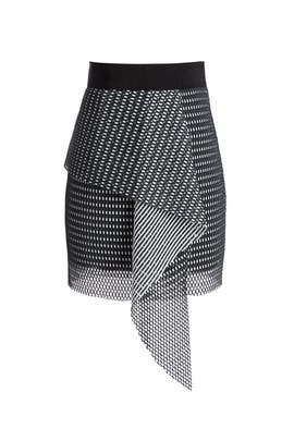 Couture Mesh Skirt by Milly
