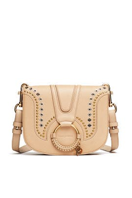Beige Studded Hana Bag by See by Chloe Accessories