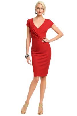 Alberta Ferretti - Red Rimini Dress