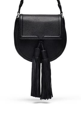 Black Isobel Saddle Bag by Rebecca Minkoff Handbags