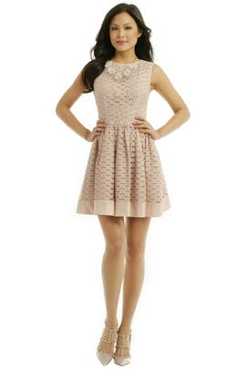 Parisian Flutter Dress by RED Valentino