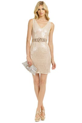 Badgley Mischka Sparkle in the Sky Dress