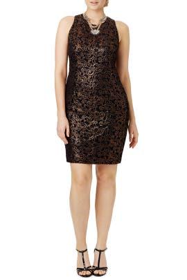 Carmen Marc Valvo - Copper Decadence Dress