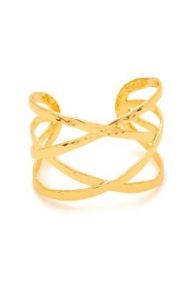 Gold Keaton Cuff by Gorjana Accessories