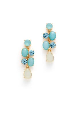 Turquoise Stack Attack Earrings by kate spade new york accessories
