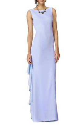Hidden Waterfall Gown by Badgley Mischka