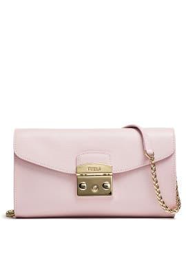 Pink Metropolis Pochette Bag by Furla