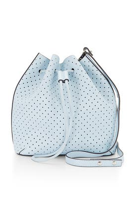 Ice Blue Bucket Bag by Rebecca Minkoff Handbags