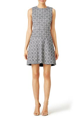 Stencil Hourglass Dress by Tory Burch