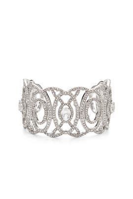 A Little Magic Crystal Cuff by Jenny Packham