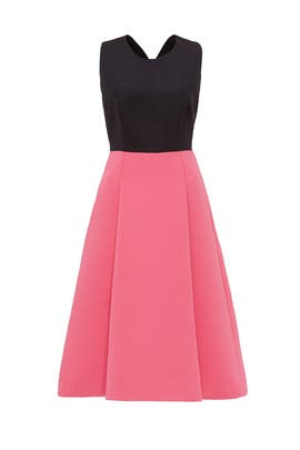 Colorblock Bowback Dress by kate spade new york