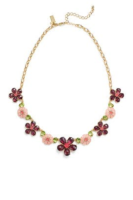 Berry Floral Necklace by kate spade new york accessories