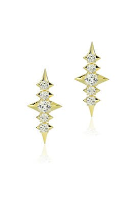 Sirius Earrings by Noir Jewelry