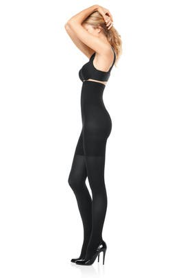 Spanx - Black High Waisted Tight End Tights
