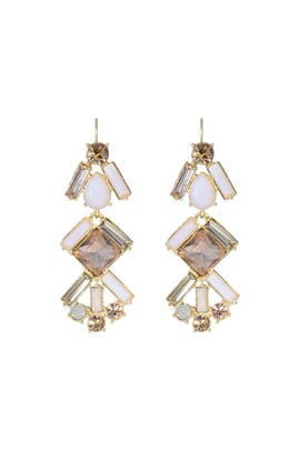 kate spade new york accessories - Baguette Bridal Chandelier Earrings