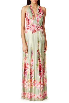 Cascading Roses Gown by Alberta Ferretti