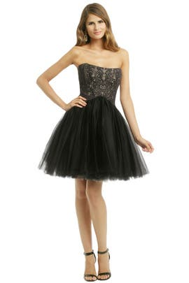 allison parris - Noir Wonderland Dress