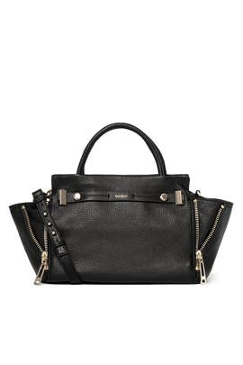 Black Leroy Satchel Bag by Botkier