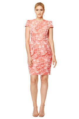 Kyoto Garden Dress by Carmen Marc Valvo