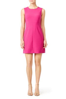 Hot Pink Carrie Dress by Diane von Furstenberg