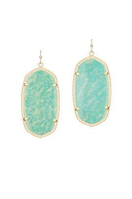 Amazonite Danielle Earrings by Kendra Scott