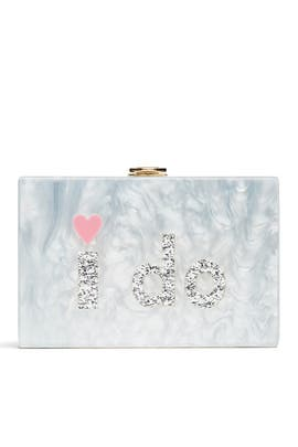 I Do Box Clutch by Milly Handbags