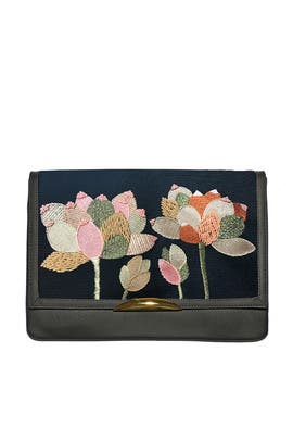 Portugal Flower Port Of Call Clutch by Lizzie Fortunato