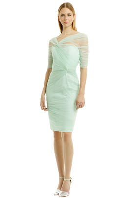 Winter Mint Mist Dress by Monique Lhuillier