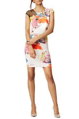 Floral Jackson Sheath by Sachin & Babi