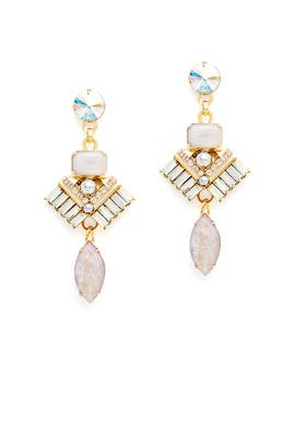 Blush Moxley Earrings by Elizabeth Cole