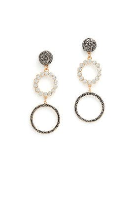 Grazia Hoop Earrings by Elise M.