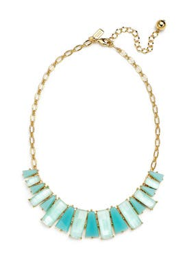 kate spade new york accessories Aqua Geo Necklace