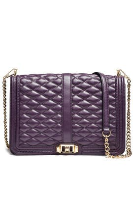 Aubergine Love Jumbo Bag by Rebecca Minkoff Handbags