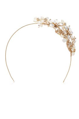 Pearl Bouquet Headband by RTR Bridal Accessories