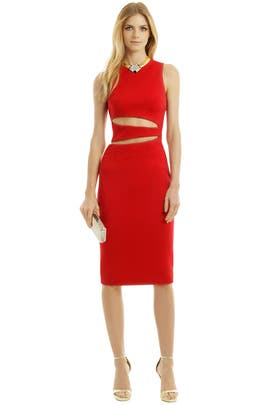 Cushnie Et Ochs - Rev Your Engines Dress