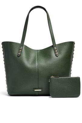 Dark Forest Unlined Tote by Rebecca Minkoff Handbags