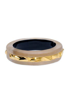 Alexis Bittar - Gilded Lucite Bangle