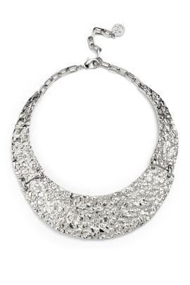 Melted Metal Collar by Ben-Amun