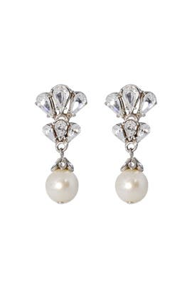 Ben-Amun - Petite Peacock Pearl Earrings
